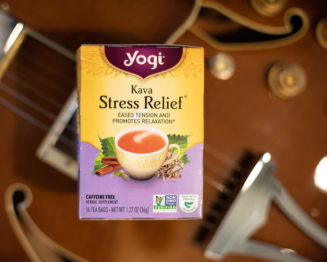4 Teas for Stress Relief